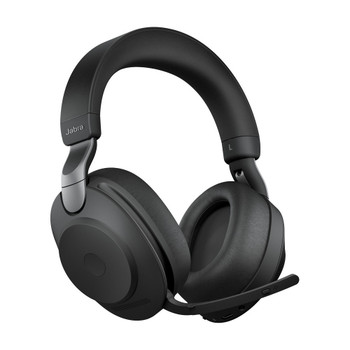 Jabra Evolve2 85link 380c MS Stereo Headset - Black