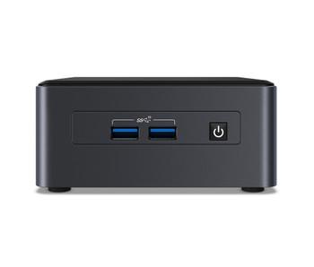 """Intel NUC Mini PC Pro Kit, I5-1135g7,ddr4(0/2),m.2(0/1),2.5""""(0/1),no Pwr Cord,3yr"""