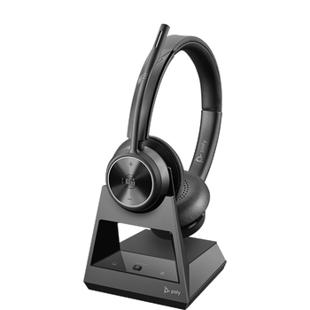 Poly Savi 7320 Office, S7320, Pc/deskphone, Stereo, Ultra-secure Dect Wireless Headset