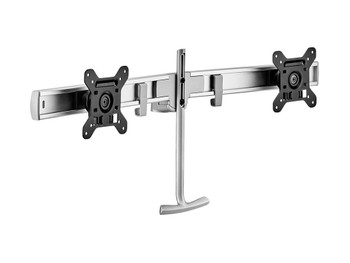 Atdec Dual Monitor Rail Accessory - Silver
