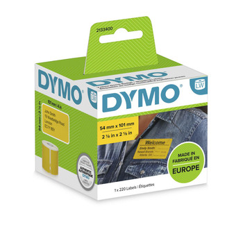 Dymo LabelWriter Standard Shipping Labels 54x101mm Yellow