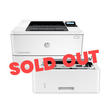 HP LaserJet Pro M402dn 38ppm A4 Mono Laser Printer + Additional Tray (Second Hand - Used)