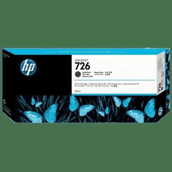HP 726B 300ml Matte Black DesignJet Ink Cartridge - T770 / T790 / T795 / T1200 / T1300 / T2300