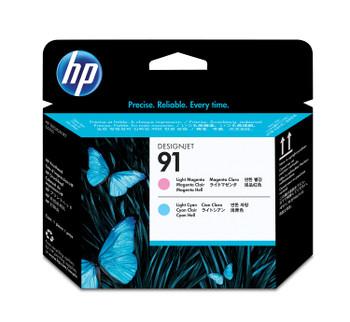 HP 91 Light Magenta & Light Cyan DesignJet Printhead