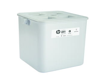 HP 841 PageWide XL Cleaning Container F9J47A for PageWide Xl 5000/4000/5100/4100/8000