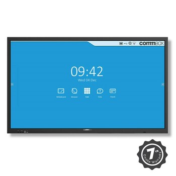 """Commbox (CBIC65) 65"""" 4K UHD Interactive Classic Display (v3), 20-pt Touch, Android 8.0, 5y"""
