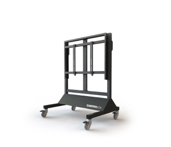"""Commbox Trolley Adjustable Fixed Height, For Touchscreens & Displays Up to 86"""""""