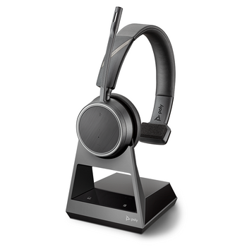Plantronics Voyager 4210 UC Headset, BT600 USB-C, with Stand UC, USB-C - Promo Ends 26 Jun 21