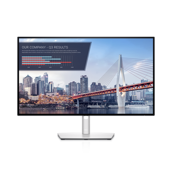 "Dell UltraSharp 27"" (16:9) IPS LED USB-C Hub Monitor, 2560x1440, 8ms, Hdmi, Dp, Usb-c, Rj-45, H/adj, Tilt, 3yr"