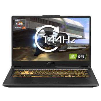 """Asus TUF Gaming A17 Grey FA706QM Gaming Notebook R7-5800h, 17.3"""" Fhd Vips, 512gb Ssd, 16gb Ram, Rtx 3060-6gb, W10h, 2yr"""
