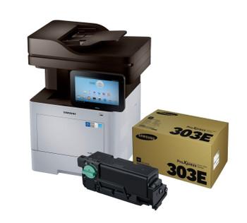 Samsung ProXpress M4580FX Printer + MLT-D303E Extra High Yield Toner