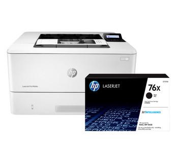 BUNDLE HP LaserJet Pro M404n 38ppm A4 Mono Laser Printer + 76X High Yield Black Toner