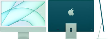 24-inch iMac with Retina 4.5K display: Apple M1 chip with 8-core CPU and 7-core GPU, 256GB - Green