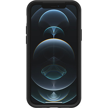 Otterbox Symmetry Series Plus Case with MagSafe (Black) for iPhone 12/12 Pro