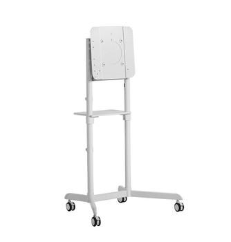 Atdec Mobile Cart with Display Rotation - White