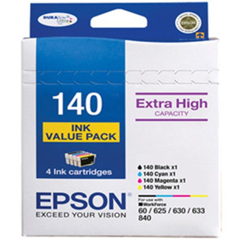 4 X 140 EXTRA HIGH CAPACITY VALUE PACK **Opened Box**