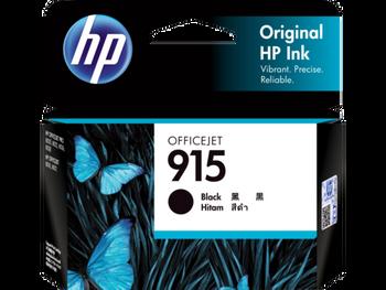 HP 915 Black Original Ink Cartridge **Slightly Damaged Box**