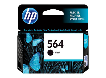 HP 564 BLACK INK 250 PAGE YIELD FOR D5400 **Opened / Slight Damage Box**