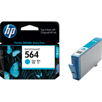 HP 564 CYAN INK 300 PAGE YIELD FOR D5400 **Slightly Damaged Box**