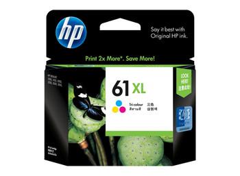 HP 61XL Tri-Color Inkjet Print Cartridge **Slightly Damaged Box**
