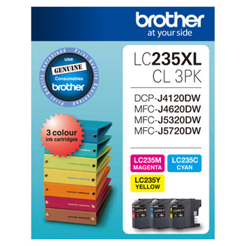 Brother LC235XL CMY Colour Pck