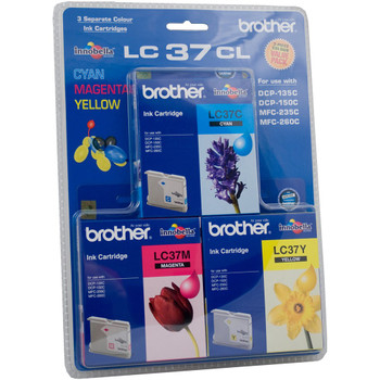 Brother LC37 CMY Colour Pack