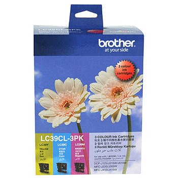 Brother LC39 CMY Colour Pack