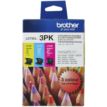 Brother LC73 CMY Colour Pack