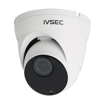 IVSEC Dome IP Camera 8MP 25FPS Motorised 2.8-12mm Lens POE IP66 45m IR