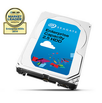 """Exos 7E2000. 2TB, 2.5"""", SATA 6GB/s, 7200RPM, 128MB Cache, 4KN Sector Type, 5 Years Warranty"""
