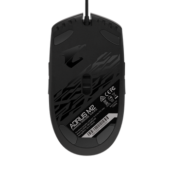 AORUS, M2, Gaming Mouse, 6200dpi, Pixart 3327 Optical Sensor, 4 side buttons, USB Corded, RGB Fusion 2.0, 2 Years Warranty