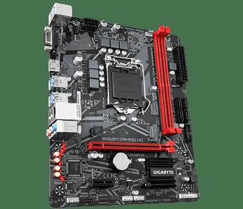 INTEL B460 Gaming MB w/GIGABYTE 8118 Gaming LAN, PCIe Gen3 x4 M.2, Anti-Sulfur Resistor, Smart Fan 5