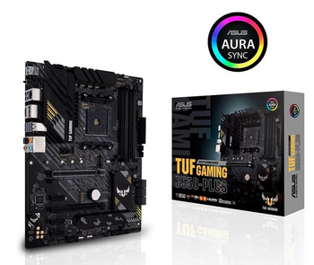 ASUS AMD B550 (Ryzen AM4) ATX gaming motherboard with PCIe 4.0, dual M.2, 10 DrMOS power stages, 2.5 Gb Ethernet, HDMI, DisplayPort