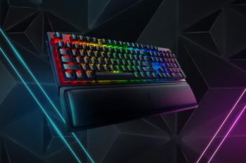 Razer BlackWidow V3 Pro-Wireless Mechanical Gaming Keyboard (Yellow Switch)-US Layout-FRML Packaging