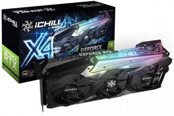 NVIDIA, RTX 3090, iChill X4, 1755MHz, 24GB GDDR6X, 3xDP, 1xHDMI, ATX, 4xFans, 750W, 3 Years Warranty