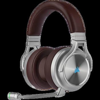 CORSAIR VIRTUOSO RGB WIRELESS SE High-Fidelity Gaming Headset, Espresso