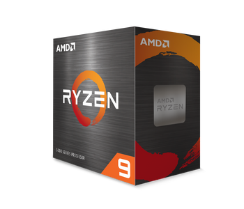 AMD Ryzen 9 5900X, 12-Core/24 Threads, Max Freq 4.8GHz,70MB Cache Socket AM4 105W, without cooler