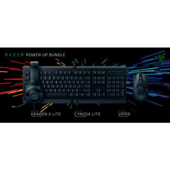 Razer Power Up Bundle-Cynosa Lite Viper Kraken X Lite-US Layout FRML Retail Packaging