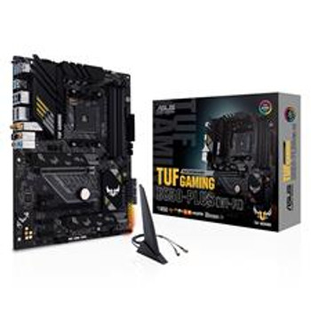 AMD B550 (Ryzen AM4) ATX gaming motherboard with PCIe 4.0, dual M.2, 10 DrMOS power stages, Intel Wi-Fi 6, 2.5 Gb Ethernet, HDMI, DP