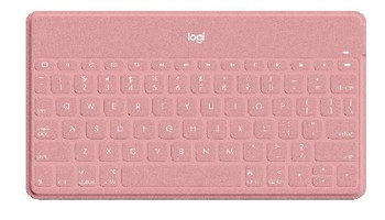 Logitech Keys-to-Go Ultra Slim Keyboard with iPhone Stand PINK