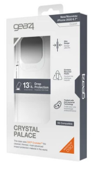 Gear4 Clear Case D3O Crystal Palace-iPhone 12 Pro Max-FG-Clear