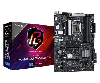 Supports 10th Gen Intel Core Processors and 11th Gen Intel Core Processors, DDR4 4800MHz,4 x DDR4 DIMM Slots