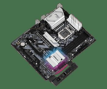 Intel Z590,10th Gen Intel Core Processors and 11th Gen Intel Core Processors, 4 x DDR4 DIMM Slots, 6 x SATA3 6.0 Gb/s