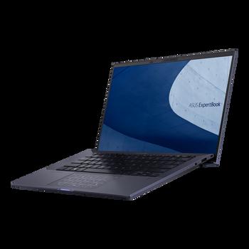Asus ExpertBook, i7-1165G7, WIN10-P, 14.0 FHD, 32GB DDR4, 2x 512GB RAID0 SSD, 1 x HDMI 2.0b, 1 x USB 3.2, 2 x Thunderbolt 4, Black, 3 YR ONSITE WTY
