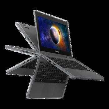 Asus ExpertBook Flip 2in1, CEL N4500, WIN10-ProA, 11.6 HD Touch w/Stylus, 4GB DDR4, 128G eMMC, Dual Camera (HD&13M), 1x HDMI, 2xUSB, 1xUSB-C, 1 Yr Onsite