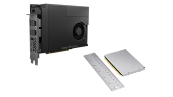 ntel NUC 11 Compute Element CM11EBv58W, with Intel Cor i5 vPro Processor and 8GB RAM, single pack