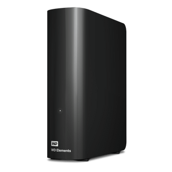 WD Elements Desktop 16TB External Portable Hard Drive - Black