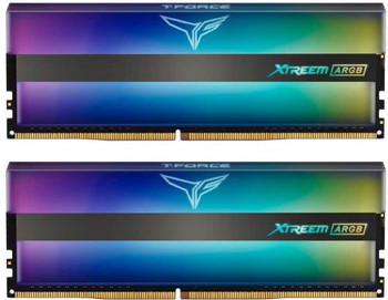 TEAM Xtreem Addressable RGB Gaming 32GB Memory Kit (16GB x 2) 3600Mhz