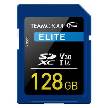 TEAMGROUP ELITE SDXC UHS-I U3 128GB High Speed Memory Card