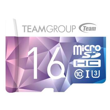 TEAM Colour Card II Micro SDHC UHS-1 U3 16G 90/45 R/W